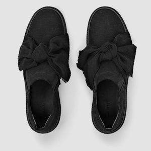 All Saints Zale Sneaker Black US size 5